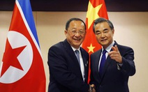 Ngoại trưởng Trung Quốc vội đến Bình Nhưỡng để làm gì?