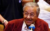 Cựu thủ tướng 92 tuổi của Malaysia nhậm chức chiều nay?