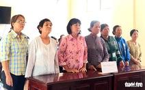 7 phụ nữ chặn xe chở cát bị đưa ra tòa