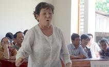 Hai phụ nữ chặn xe cát bị đề nghị phạt 24-30 tháng tù