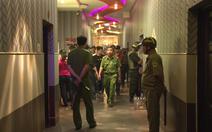 Đột kích quán karaoke giữ 76 người dương tính với chất ma túy