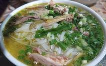 Món 'phở gác bếp' Hà Giang, hương gạo nương ám khói