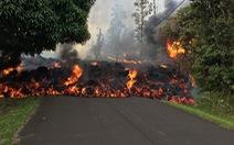 Thế giới trong tuần qua ảnh: Dung nham núi lửa cuồn cuộn như lũ trên quốc lộ ở Hawaii