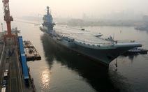 Trung Quốc thử nghiệm tàu sân bay tự đóng trên biển