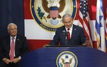 Mỹ dời đại sứ quán về Jerusalem: Lối tư duy nhiệm kỳ?