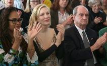 Dưới sức ép của Cate Blanchett, Cannes cam kết tôn trọng phụ nữ