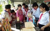 Sân chơi sáng tạo của học sinh trường làng