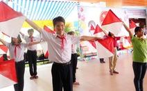 Kỷ niệm 77 năm thành lập Đội TNTP Hồ Chí Minh: Hai liên đội trưởng đa tài