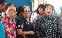 7 phụ nữ chặn xe cát được hưởng án treo