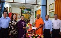 Lãnh đạo TP.HCM thăm, chúc mừng Đại lễ Phật đản 2018