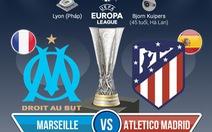 So với Atletico Madrid, Marseille chỉ là một đội bóng trung bình