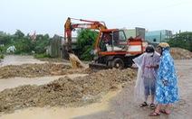 Khu tái định cư ngập lụt