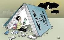 Cuối tuần người lớn được xả hơi, sao trẻ em vẫn phải học?