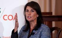 Đại sứ Mỹ bị chỉ trích vì bỏ đi khi Palestine phát biểu