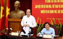'Cách quản lý của Bộ Văn hoá đang cản trở sự phát triển'
