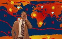Brad Pitt tái xuất trong chương trình thời tiết hài hước