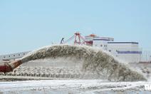 Xây 5km kè biển chứa chất thải nạo vét cảng Vĩnh Tân