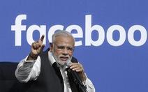 Trên Facebook, thủ tướng Ấn qua mặt ông Trump
