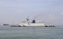 Đà Nẵng đón cùng lúc 3 tàu hải quân Ấn Độ vào thăm