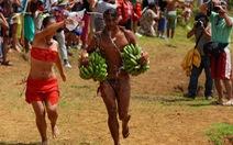 Chơi đủ trò tại lễ hội Tapati của cư dân Đảo Phục Sinh