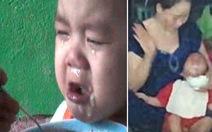 Nhói lòng những bữa ăn đầy nước mắt của trẻ mầm non