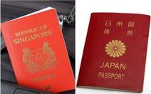 Hộ chiếu Nhật Bản có 'quyền lực' nhất thế giới, Việt Nam thứ 84