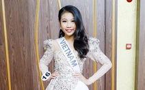 Hoa hậu hoàn vũ nhí 2018: 'Em chỉ chạy show vào dịp cuối tuần'