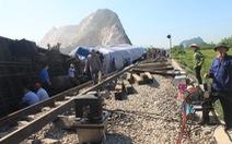 Khởi tố hai nhân viên gác chắn vụ lật tàu hỏa tại Thanh Hóa