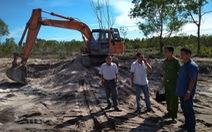 Lại bắt quả tang khai thác cát trái phép ở Phú Quốc