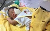 Cứu chữa kịp thời bé sơ sinh bị chôn sống