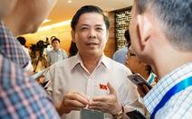 Đợi bộ trưởng Nguyễn Văn Thể trả lời chất vấn về 'trạm thu giá'