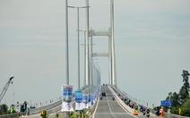 Chính thức thông xe cầu Cao Lãnh, cầu thứ 3 bắc qua sông Tiền