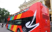Hà Nội đưa ba xe buýt hai tầng phục vụ tham quan thành phố