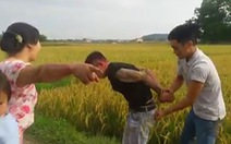 Nông dân cứu nông dân, bắt tại trận kẻ đòi 'bảo kê' máy gặt