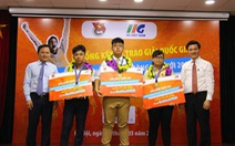 3 bạn trẻ dự giải Vô địch tin học văn phòng thế giới