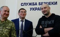Nhà báo Nga 'bị ám sát' xuất hiện kể chuyện dàn dựng cái chết
