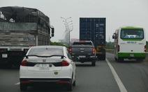 Nguy cơ tai nạn rình rập từng giây trên cao tốc