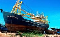 Đề nghị chuyển tàu vỏ thép chưa bàn giao đã hỏng cho chủ mới