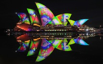 Rực rỡ đêm Sydney trong lễ hội ánh sáng