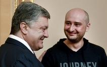 Nga nói Ukraine 'khiêu khích' với trò nhà báo 'chết đi sống lại'