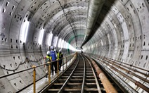 Ngắm đường hầm metro thứ 2 sắp hoàn thành dưới lòng đất