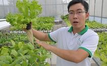Nông dân rau sạch - sự lựa chọn của KTS Lân
