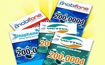 Báo cáo Thủ tướng về biện pháp quản lý thẻ cào di động