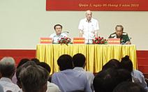 Chủ tịch nước xin phép vắng mặt ở buổi tiếp xúc cử tri TP.HCM