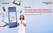 Maritime Bank thêm phương thức thanh toán trên ứng dụng di động