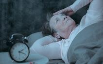 Mất ngủ ở người cao tuổi