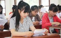Gần 40% học sinh THPT ở Nghệ An chỉ dự thi để xét tốt nghiệp