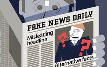 Videographic 'fake news' được lan truyền như thế nào?