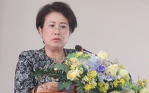 Bà Phan Thị Mỹ Thanh xin thôi nhiệm vụ ĐBQH