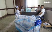 Tòa bố trí phòng chăm sóc đặc biệt cho bị cáo có con nhỏ